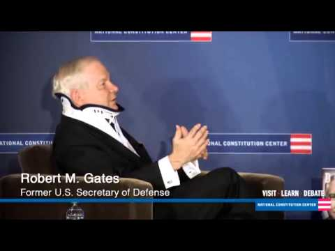 Robert Gates at the National Constitution Center