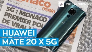 Huawei Mate 20 X 5G | First Look