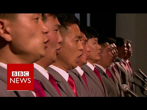 A rare look inside North Korea's Kim Il Sung University - BBC News