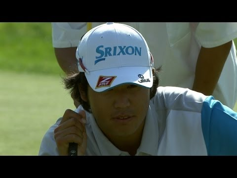 Hideki Matsuyama's approach sets up birdie on 72nd hole at the Memorial