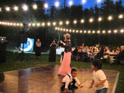 Mother Teaches Son Traditional Japanese Dance