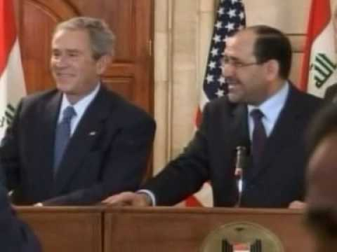 George Bush shoe attack Video