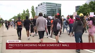 Somerset Collection closed Monday as protests planned in Troy