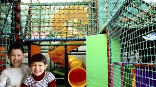Indoor Playground Family Fun for Children | Super Slides Balls Pool Horse carriage Little Tike Car