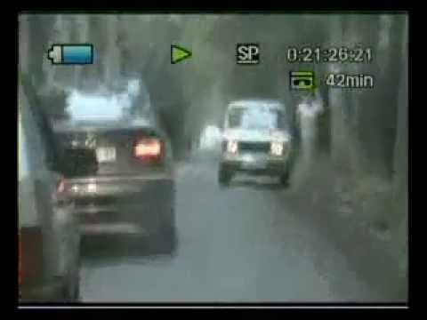 BMW vs russian police
