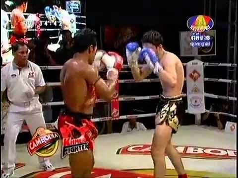 International Khmer Boxing - Keo Rumchang Vs Jenrop Pumphanmuang [Thailand] 30.08.2013