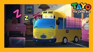 Tayo is sleeping! l Habit Game l Learn Street Vehicles l Tayo the Little Bus