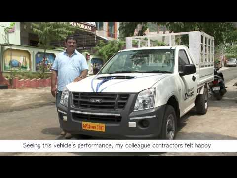 ISUZU D-MAX Customer testimonial - Subba Raju (Andhra Pradesh)