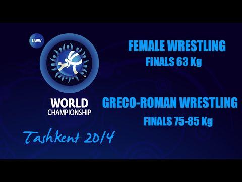 LIVE FW + GR  Tashkent 12.09.2014 - World Championship 2014