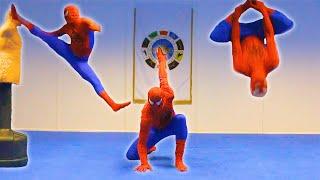 Un día cualquiera en el entrenamiento de Spiderman