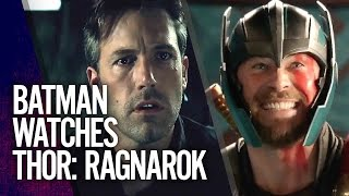 Batman Reacts to Thor: Ragnarok Trailer