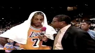 Dennis Rodman Forgets His Wife's Name!