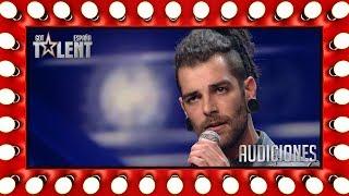 Parecía un rockero y sorprendió cantando Ed Sheeran | Audiciones 5 | Got Talent España 2018