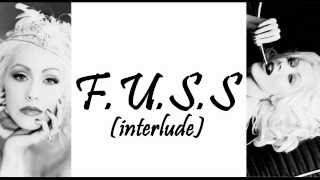 Watch Christina Aguilera FUSS Interlude video