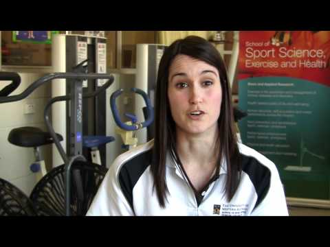 UWA Science majors: Exercise and Health