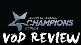 GRF vs KT Week 4 Game 1 VOD REVIEW