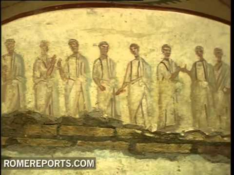 Arqueólogos del Vaticano revelan pinturas del siglo III ocultas bajo el suelo de Roma