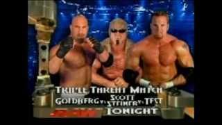 Scott Steiner vs Test vs Goldberg