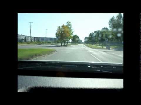 A short trip around the City of Thompson, Manitoba.wmv