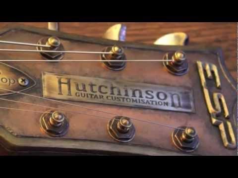 New James Hetfield's Guitars Style: Hutchinson Guitar Concepts