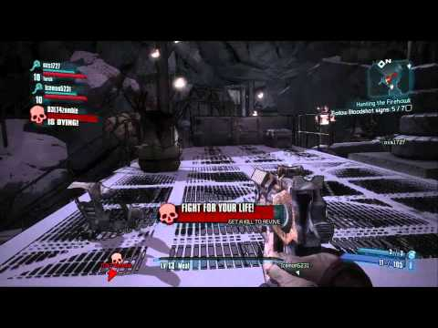 Borderlands 2 - Krieg the Psycho Gameplay (Level 13)