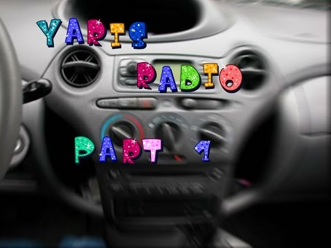 radio cd yaris parte 1