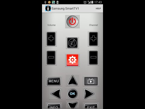 Samsung Universal Remote Control - Android application - IR blaster.