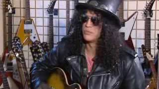 Slash interview about all of his guitars and how he got them all