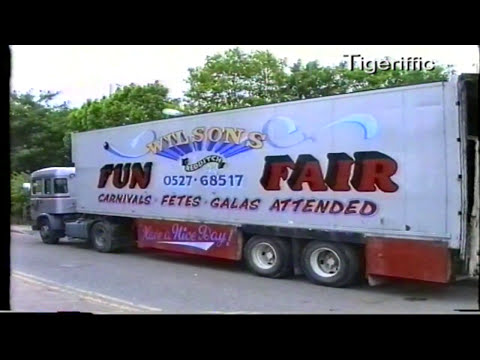 Staffordshire Funfairs during the 1990s