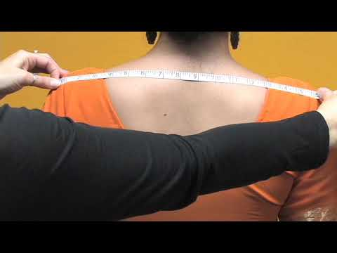 How To Measure A Blouse   Choli video