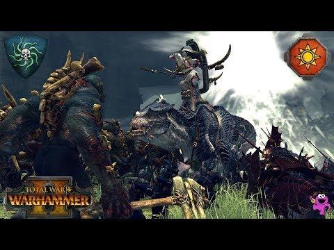 Download video The Vampire Coast vs. Blessed Lizardmen of Lustria! - Total War Warhammer 2 Battle Gameplay