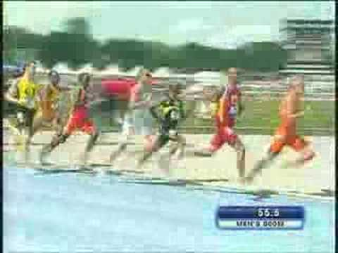 NCAA T&F Mens 800 Championship 2008 Video