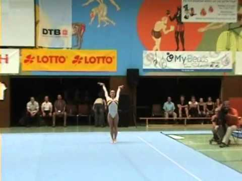 2004 Olympic FX Champ Catalina Ponor Back on Floor in 2011
