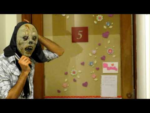 Funny scary pranks on a hot chick~