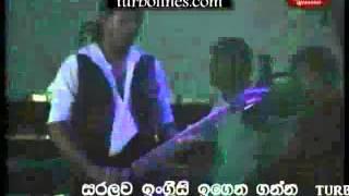 supriya abesekara with purple range mal sarata prema loke maliga thana song