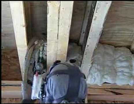 Spray Foam Insulation - The Intelligent Choice