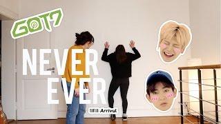 """J'apprends à danser à ma soeur """"NEVER EVER"""" GOT7 - DANCE TUTO"""