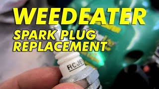 Weedeater Spark Plug Replacement