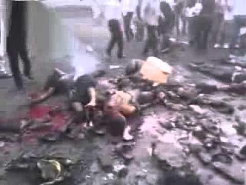 شام ريف دمشق زملكا مجزرة بانفجار قرب المتظاهرين ... ج2 +18