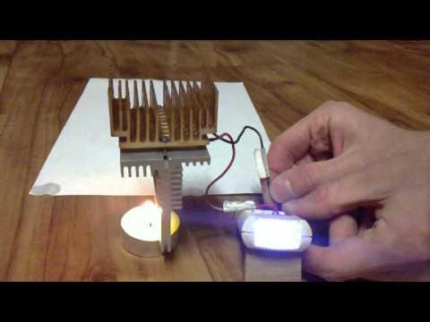 Candle Free Energy - Perpetuum Mobile - Energie Zdarma Ze Svíčky