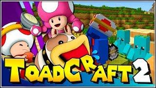 Por la puerta!!! | 66 | ToadCraft 2 (Super Mario Minecraft - Switch)