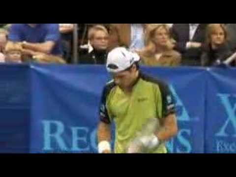 Tommy Haas beats Andy Roddick in Memphis Video