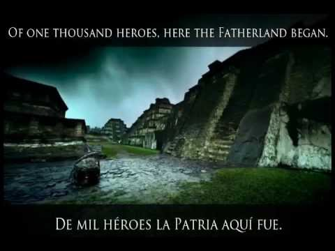 Himno Nacional De México   Mexico National Anthem (letra Español   English Lyrics) video
