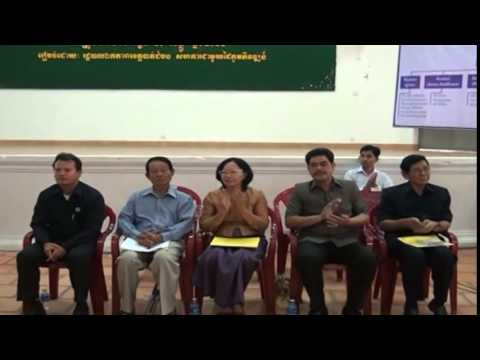 New Cambodia TV ETV launched Khmer news TVK Daily News 20 12  2014