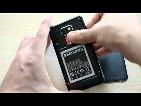 Samsung Galaxy S2 - How to remove backside/battery/SIM/SD