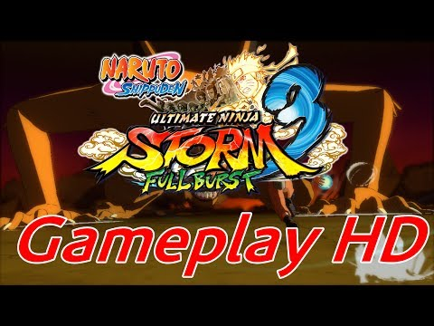 Naruto Shippuden Ultimate Ninja Storm 3 Full Burst Gameplay HD (PS3\XBOX360\PC)