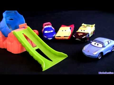 4 Color Changers Playsets Cars 2 Splash & Spray Set Using Disney Pixar Cars2 Shifters Water Toys