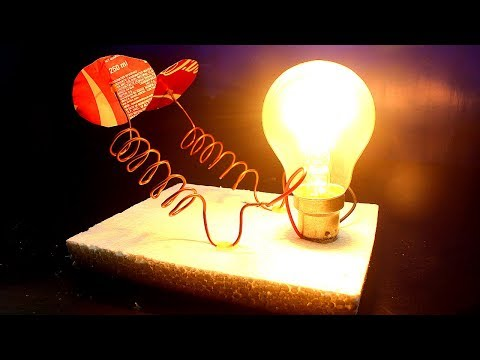230v Light Bulb Free Energy With Wireless - Energy Receiver Device thumbnail