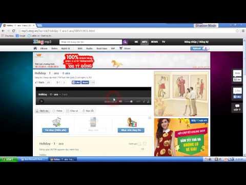 Hướng Dẫn Download Nhạc Về Máy video