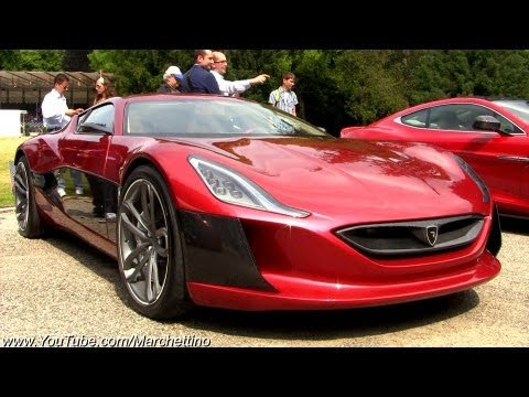 1088hp Rimac Concept One - World s Fastest Electric Supercar